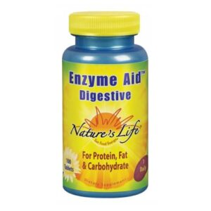 Nature's Life Enzyme Aid Digestive - 100 tabs