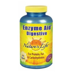 Nature's Life Enzyme Aid Digestive - 250 tabs