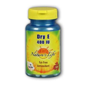 Nature's Life Dry Vitamin E - 50 caps