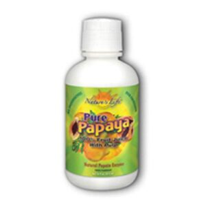 Nature's Life Natural Pure Papaya Juice with Pulp - 16 oz