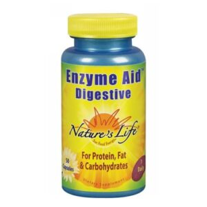 Nature's Life Enzyme Aid Digestive - 50 caps