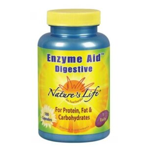 Nature's Life Enzyme Aid Digestive - 100 caps