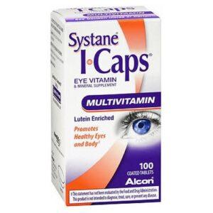 Alcon Icaps Multivitamin Tablets - 100 tabs