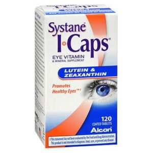 Alcon Icaps Lutein And Zeaxanthin Formula - 120 tabs