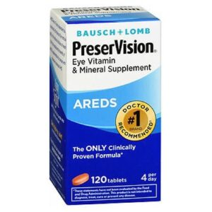 Bausch And Lomb Bausch And Lomb Ocuvite Preservision Tablets - 120 tabs