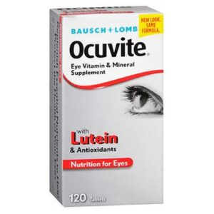 Bausch And Lomb Bausch And Lomb Ocuvite Eye Vitamin & Mineral Supplement Tablets - 120 tabs